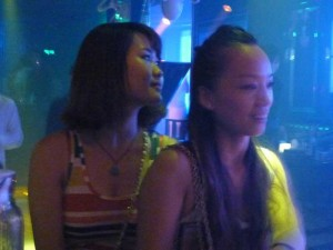 Chinese girl at expats club